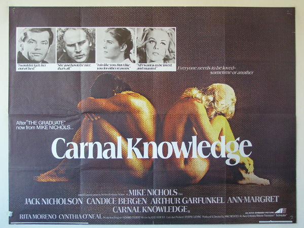a literary analysis of carnal knowledge by t boyles