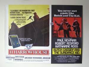 11 Harrowhouse/ Butch Cassidy & the Sundance Kid