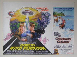 Escape To Witch Mountain / The Castaway Cowboy