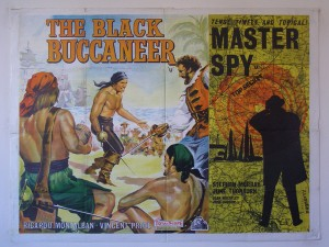 Black Buccaneer, The / Master Spy